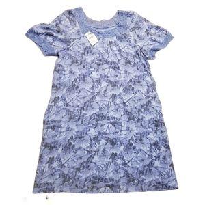Northern Reflection Tropical Print Dress NWT $90
